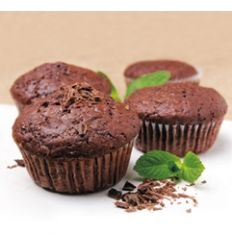 Chocolate-beetroot muffins