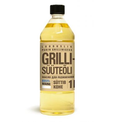 USE CHARCOAL LIGHTER OIL TO LIGHT THE CHARCOAL IN YOUR GRILL